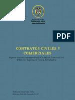 ALGUNOS ESTUDIOS CONTEMPORANEOS-CONTRATOS CIVILES Y COMERCIALES