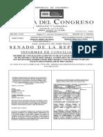 Gaceta 659 - Reforma a la justicia - 2021