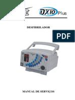 Manual de Serviços desfibrilador DX-10Plus.pdf