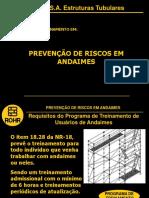 Treinamento em Prevenção de Acidentes em Andaimes - Rohr Tubulações e Andaimes