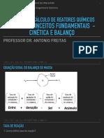 Aula 2 - Conceitos fundamentais de cinética e balanço
