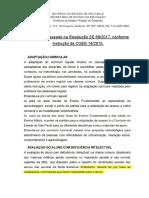 Adaptao Curricular Modelo Anexo III