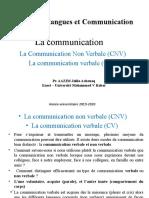 La Communication CNV Et CV