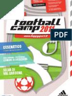 scheda football camp 2011