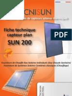 Tecnisun Fiche Tech Sun200 210311
