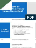 Les documents de transport et l'assurance transport international VDif