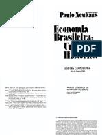Análise Econômica da Escravidão no Brasil - Pedro Carvalho de Mello e Robert W. Slenes