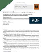 20 Años Después de La Convención de Los Derechos Del Niño - Alejandro Morlachetti