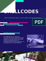 Shellcode presentation