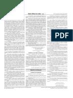 Portaria nº 278, publicada no Diário Oficial da União em 18/03/2011