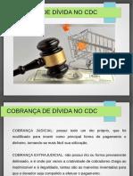 COBRANÇA DE DÍVIDAS NO CDC