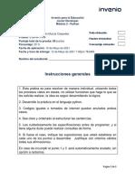 Examen Final Modulo 1 - Python