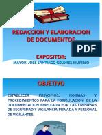 Redaccion y Elaboracion de Documentos