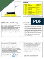 (Communication) (English E-Book) Scientific writing (pdf)