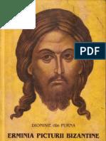 ERMINIA PICTURII BIZANTINE Dionisie din Furna