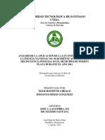 Aplicacion de La Ley Institucional de La Policia Nacional (2012)