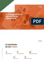 WEB PPT O LETRAMENTO E A AQUISIÇÃO DA LINGUAGEM(1)