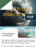 CICLO HIDROLÓGICO 2018