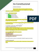 1 SEMANA. SEG - CONST - Classificação das constituições
