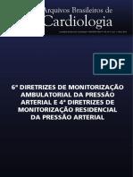 Diretrizes aferição da pressão arterial
