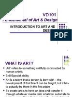 Intro to Art & Design
