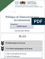 Choix de financement pour investissement OT
