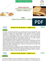 Material educarivo-productos de granos y t.