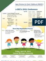 2011 MiDEC Conference Brochure