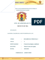 GUIA DE APRENDIZAJE 7 PROYECTO DE VIDA