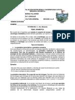 3ro.Basico C.G. 20 - 09 - 2020