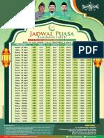 Jadwal Puasa Ramadhan 2021 PC JOMBANG