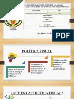 Exposicion_Politica Fiscal