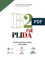 Prova Scrivere commentata_PLIDA B2
