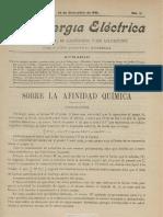 La Energía eléctrica. 25-12-1901, no. 12