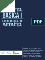 Matemática Básica I-Livro