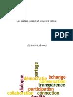 Vincent Ducrey - Médias sociaux et secteur public