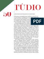 Estúdio 50 - Edição 01