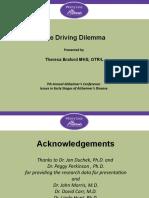 Driving Dilemma Slide Share