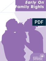 "Early On Guidebook 4, ""Family Rights"""