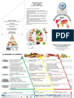 Folleto Diabetes Mellitus, Alimentación