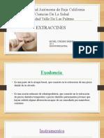 Expo Odontopediatria Extracciones