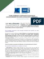 Icade et Klépierre confirment le succès du centre commercial Le Millénaire