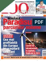 Revista 100% Construct Nr 18 Martie 2011