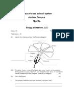 Assessment for  10 C 2011