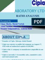 CIPLA -RATIO ANALYSIS