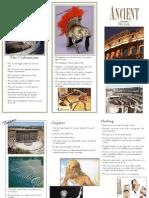 Ancient Rome brochure