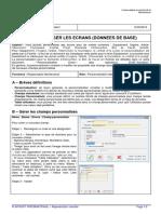 CONF - 08 Personnaliser les écrans (données de base)