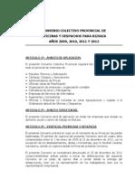 Convenio Oficinas y Despachos Bizkaia 2009-2012