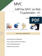 ASP.Net MVC ile Web Uygulamaları -16 (JQuery)