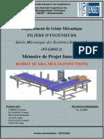 PI-(ROBOT SCARA multi-fonction)